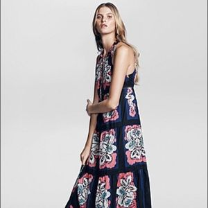 Country Road Floral Print Maxi Dress